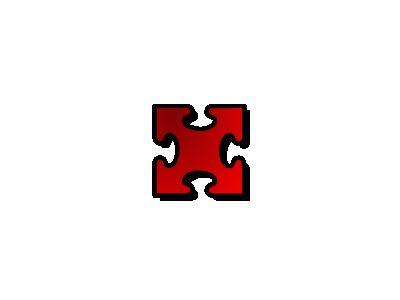 Jigsaw Red 03 Shape
