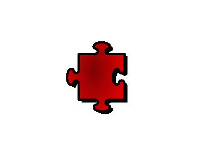 Jigsaw Red 07 Shape