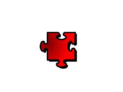 Jigsaw Red 11 Shape