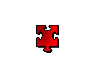 Jigsaw Red 15 Shape