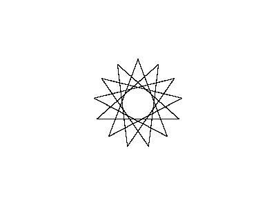 Star 13pt05step Shape