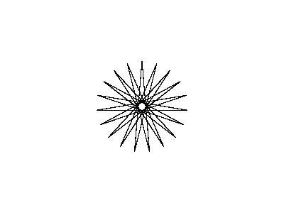 Star 19pt09step Shape