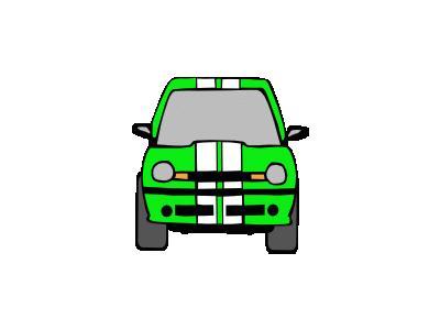 Dodge Neon Green Ganson Transport