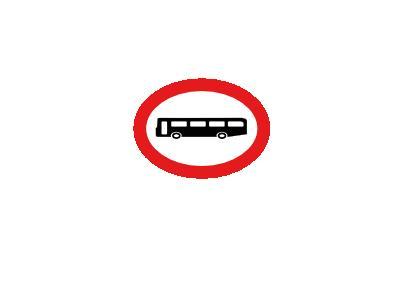 NO BUSES Transport