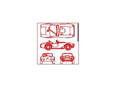 Shelby Cobra Car Bluepr  Transport