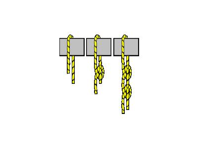 Knot Two Half Hitch Transport
