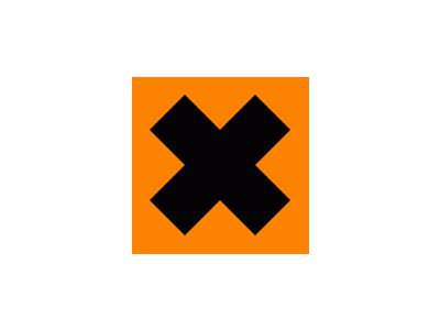 Pattern Danger Sign Cross 1 Special