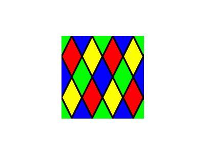 Pattern Diamond Harlequin 3 Special