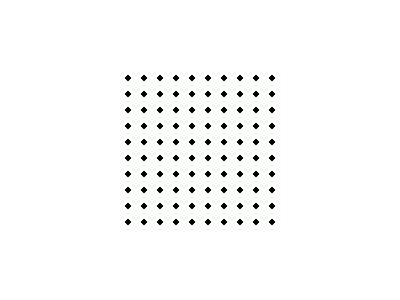 Pattern Dots Square Grid 03 Special