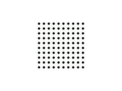 Pattern Dots Square Grid 04 Special