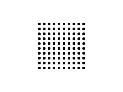 Pattern Dots Square Grid 05 Special