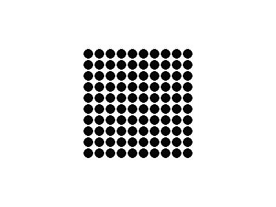Pattern Dots Square Grid 08 Special
