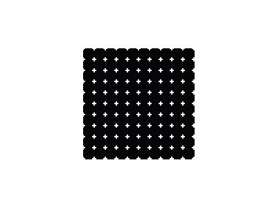 Pattern Dots Square Grid 11 Special