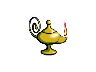 Lampada Di Aladino Alad 01 Tools