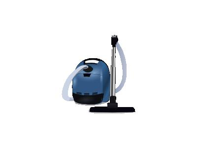 Blue Vacuum Cleaner Jaim 01 Tools