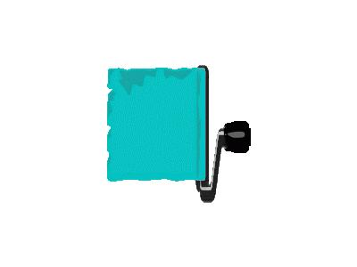 Paint Roller Banner Gera 01 Tools