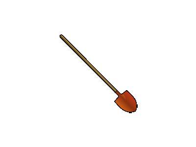 Roundpointshovel Benji P 01 Tools