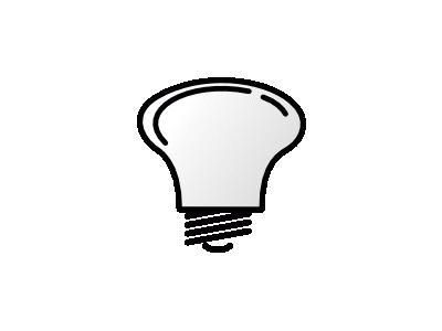 Lightbulb Notlit Benji P  Electronics