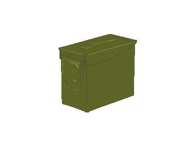 Ammo Can Ganson Containers