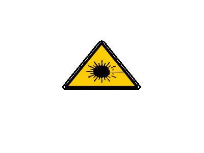 Rayonnement Laser Yves G 01 Symbol