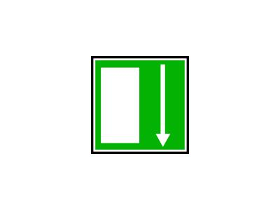 Sortie Issue De Secours 05 Symbol