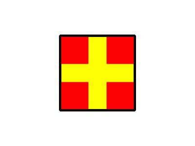 Signalflag Romeo Symbol