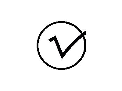 Checkmark Joel Montes De  Symbol
