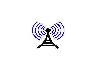 Radio Wireless Tower Cor  Symbol