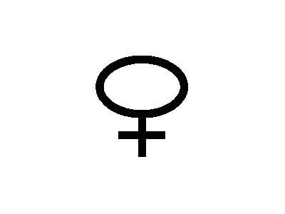 Female Symbol Dan Gerhar 01 Symbol