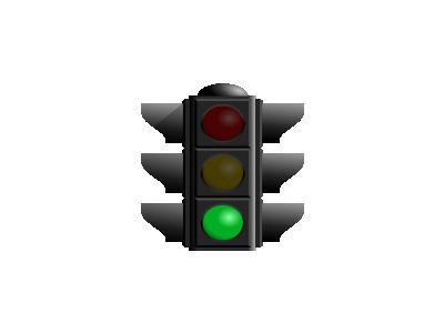 Traffic Light Green Dan  01 Symbol