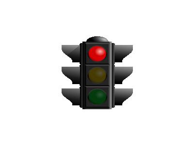 Traffic Light Red Dan Ge 01 Symbol