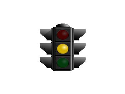 Traffic Light Yellow Dan 01 Symbol