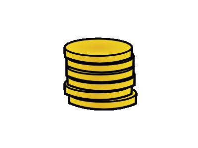 Gold Coins In A Stack Jo 01 Symbol
