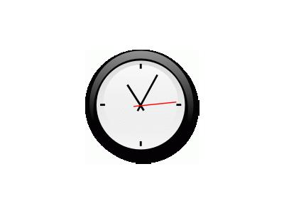 Modern Clock Chris Kemps 01 Symbol