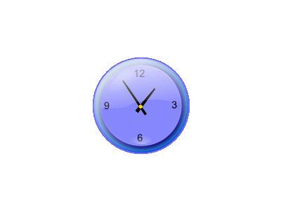 Analog Clock Jonathan Di 01 Symbol
