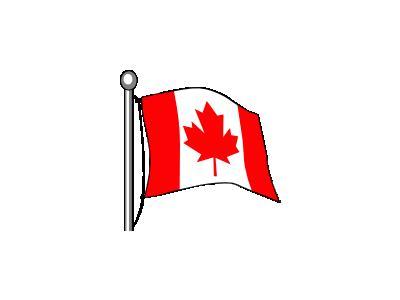 Canada Flag Ganson Symbol