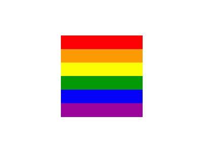 Gay Pride Flag Kimiko R Symbol