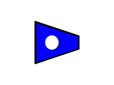 Signalflag 2 Symbol
