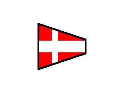 Signalflag 4 Symbol