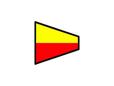 Signalflag 7 Symbol