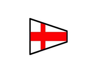 Signalflag 8 Symbol