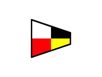 Signalflag 9 Symbol