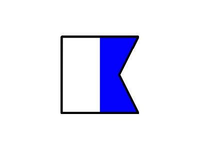 Signalflag Alpha Symbol