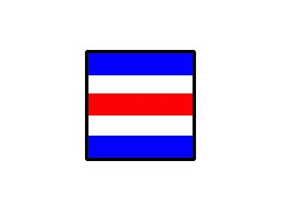 Signalflag Charlie Symbol
