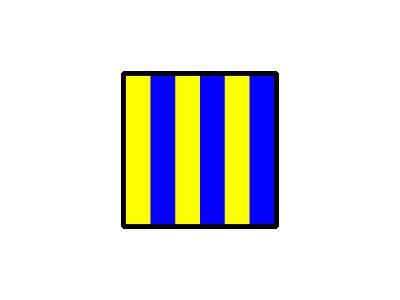 Signalflag Golf Symbol