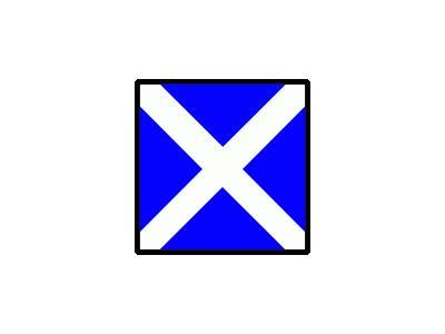 Signalflag Mike Symbol