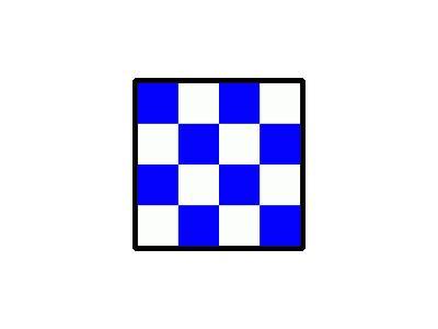 Signalflag November Symbol