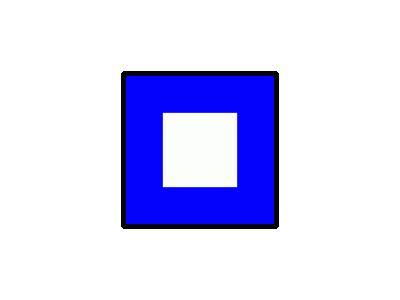 Signalflag Papa Symbol