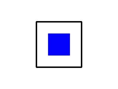 Signalflag Sierra Symbol