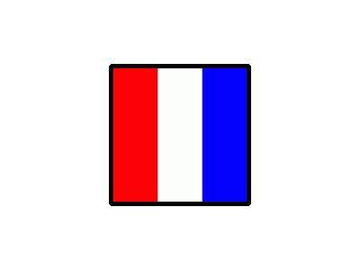 Signalflag Tango Symbol
